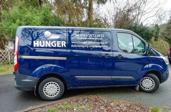 Einsatzfahrzeug von Hunger Rohrreinigung aus Falkensee